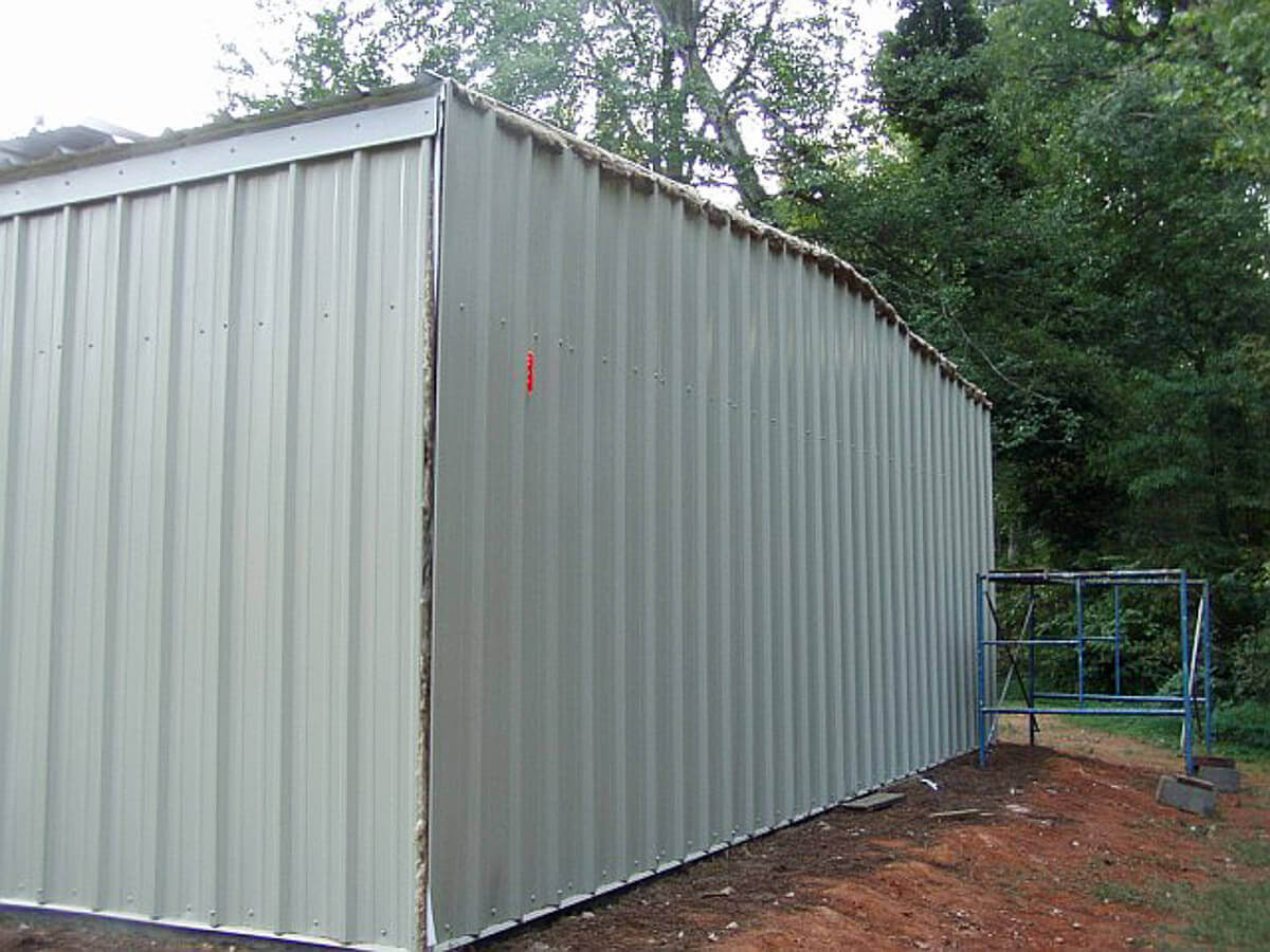 DIY Steel Building