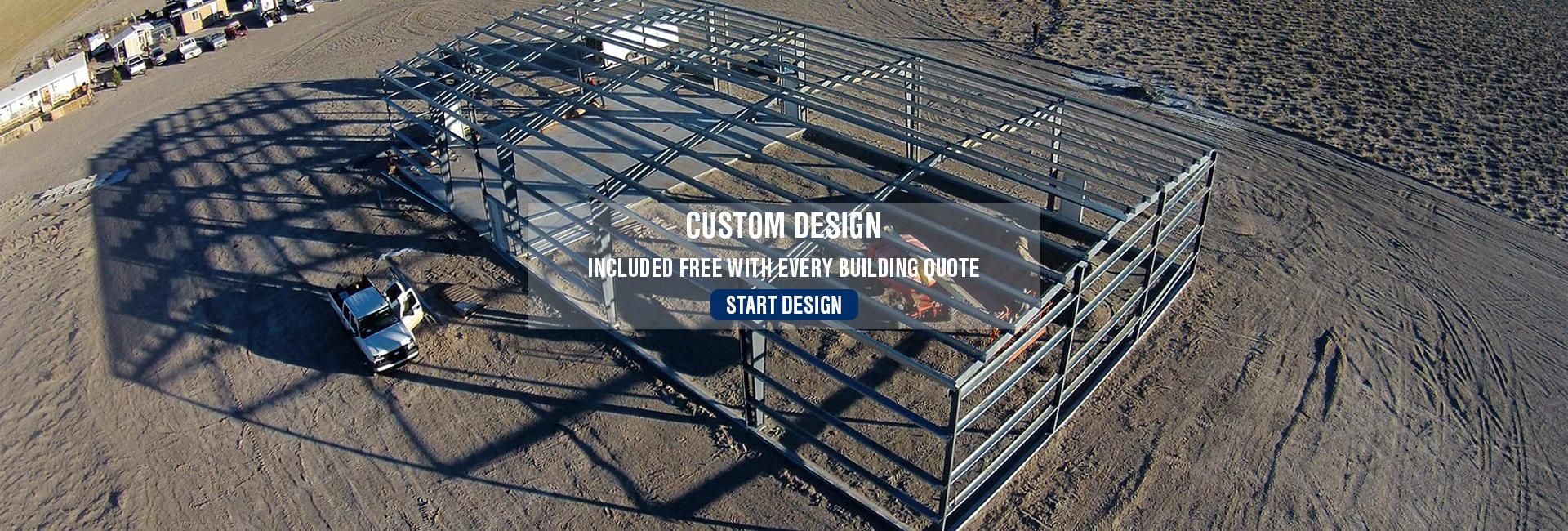 custom design metal building
