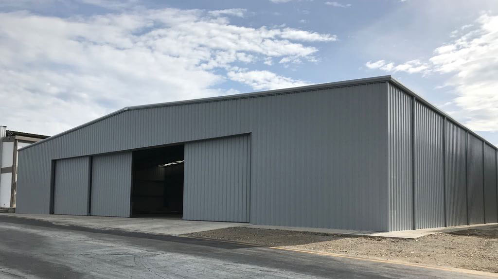 Columbia-hangar