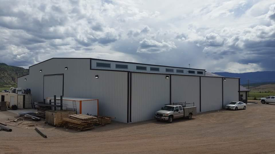 Warehouse Office Space Steel Building