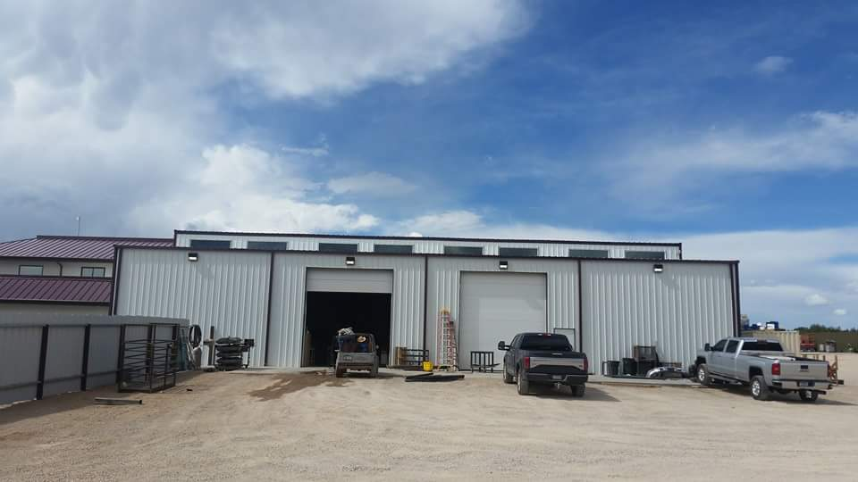 Office Space Steel Building with Warehouse