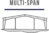 Multi Span Steel Building