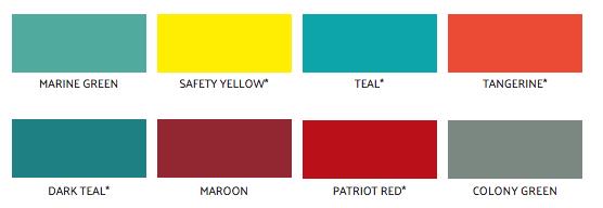mini-storage-door-non-standard-colors