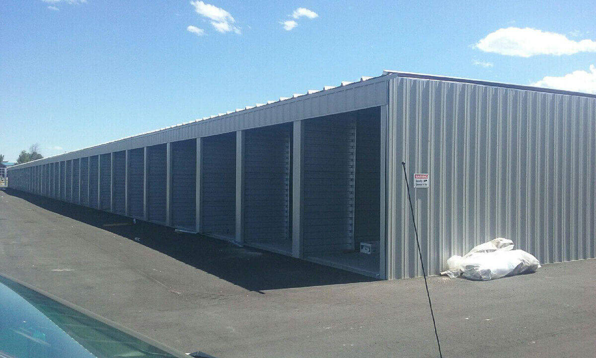 Prefabricated Self Storage Building