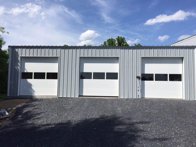 3 Car Metal Garage